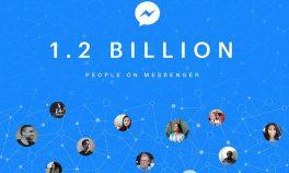 Facebook Messenger 1,2 milyar aylık aktif kullanıcıya ulaştı
