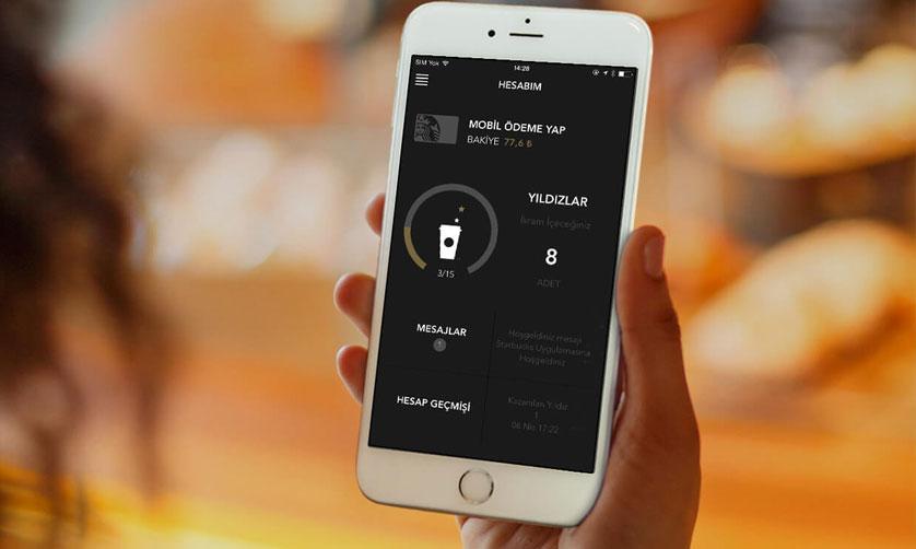 Starbucks Mobil Uygulaması 3 ay gibi kısa bir sürede 200.000'i aşkın kahve sever tarafından indirildi.