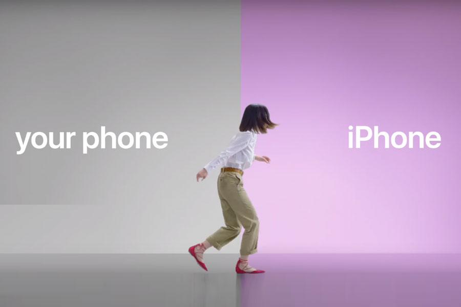 Apple'ın Android kullanıcılarını hedef alan yeni reklamları yayında