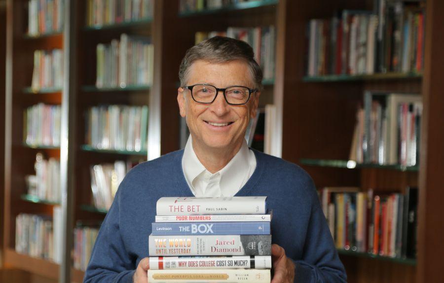 Bill Gates'e dünyayı sorgulatan 5 kitap