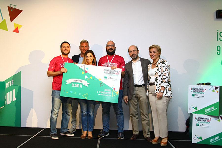 Fintech girişimleri 3. BNP Paribas International Hackathon İstanbul ayağında yarıştı