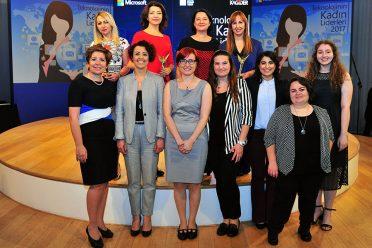 Teknolojinin kadın liderleri ikinci kez ödüllendirildi
