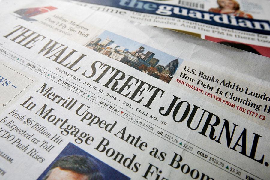 Wall Street Journal'dan Avrupa'da kâğıda veda