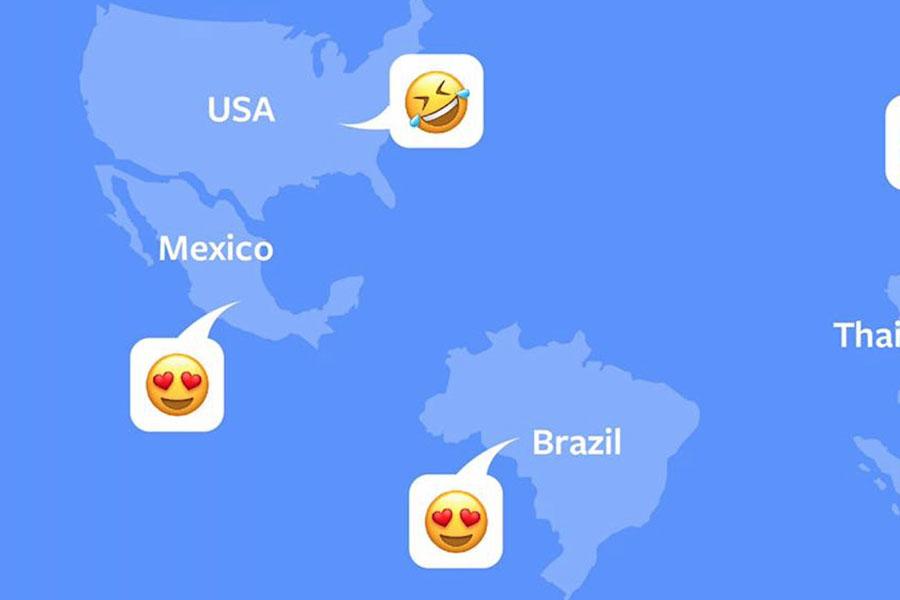 Facebook'ta en çok kullanılan emojiler açıklandı