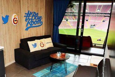 Galatasaray'dan bir ilk: Blue Room