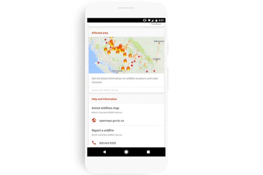Kriz anları için Google çözümü: SOS Alerts