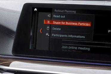 Microsoft ve BMW'den Skype hamlesi