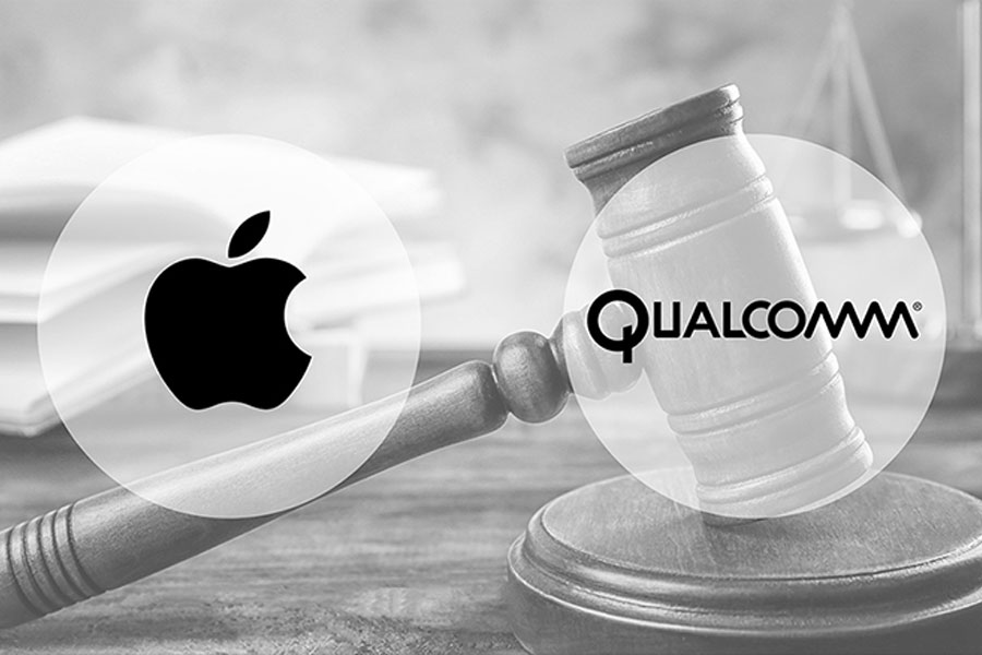 Qualcomm'dan Apple'a patent davası