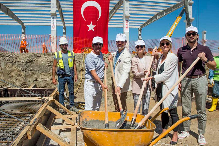 Vestel, yeni fabrikasının temelini attı