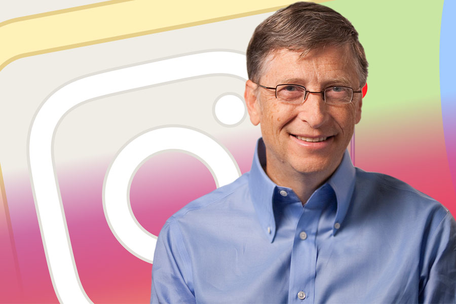 Bill Gates Instagram'da