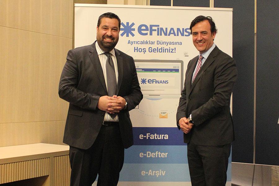 Dış ticarette entegrasyon sağlayan ilk e-fatura hizmet sağlayıcı:eFinans