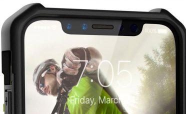 En yeni iPhone 8 sızıntısından ön panel görüntüsü