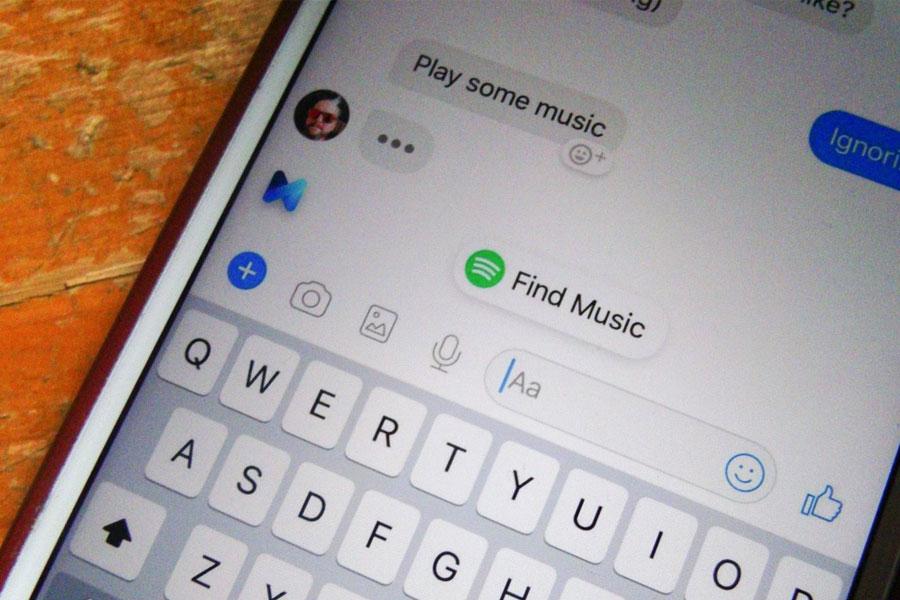 Facebook Messenger sohbete göre Spotify önerileri sunacak