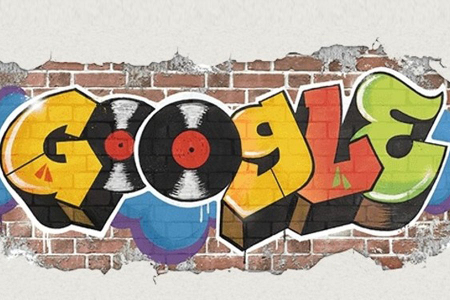 Hip Hop'un tarihi Google doodle'da