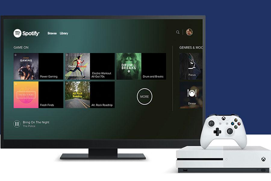 Spotify Xbox One'da