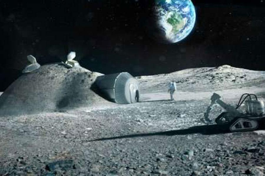 Ay'a temelli yerleşiyoruz