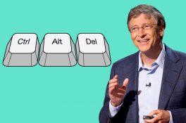 Bill Gates'den yıllar sonra Ctrl+Alt+Delete açıklaması