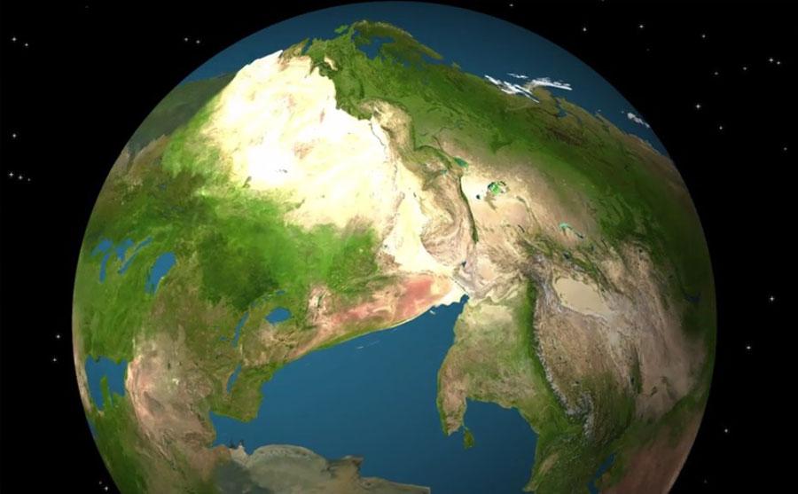 Dünya 250 milyon yıl sonra nasıl görünecek?