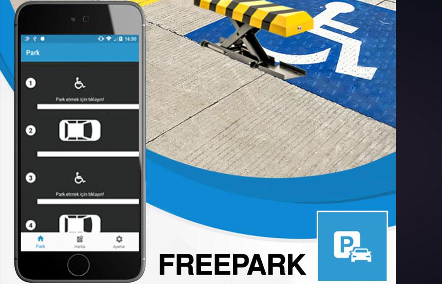 Engelleri ortadan kaldıracak 'Freepark' uygulaması destekçilerini bekliyor