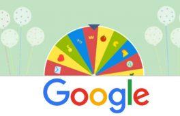 Google 19. yaşına özel doodle