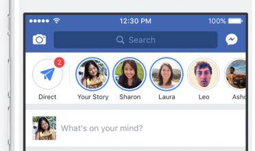 Facebook Hikayeler'de yeni dönem
