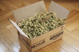 Amazon yanlışlıkla 30 kilo esrar gönderdi