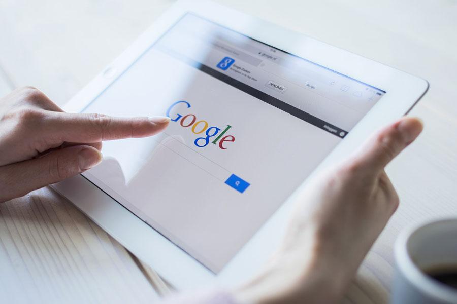 Google arama sayfası değişti