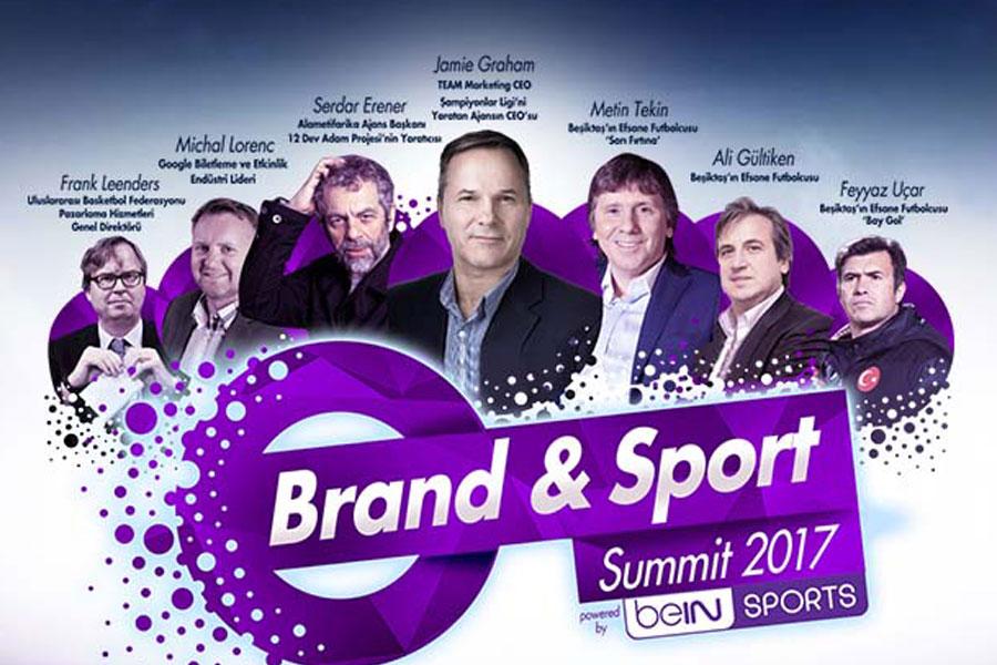 Markalarla sporun ilk büyük buluşması Brand & Sport Summit 2017