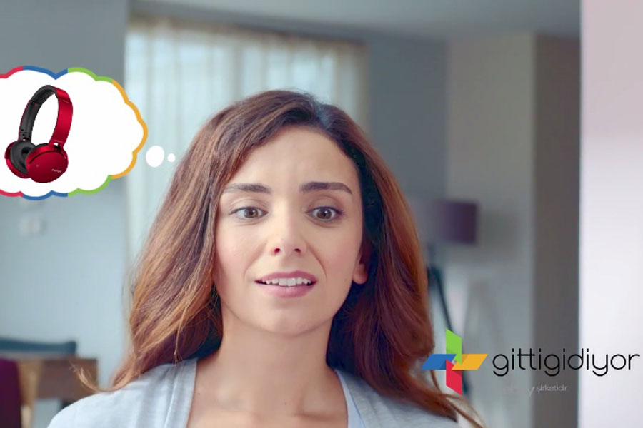 GittiGidiyor'dan üç yeni reklam filmi