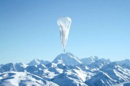 """Google'ın """"internet balonu"""" hizmete girdi"""