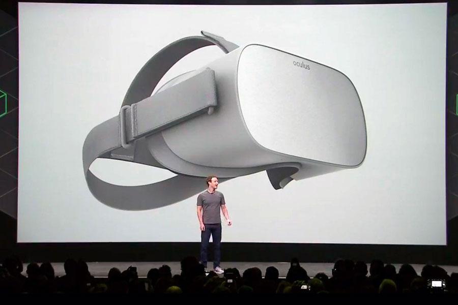 Zuckerberg, VR kulaklık seti Oculus Go'yu tanıttı