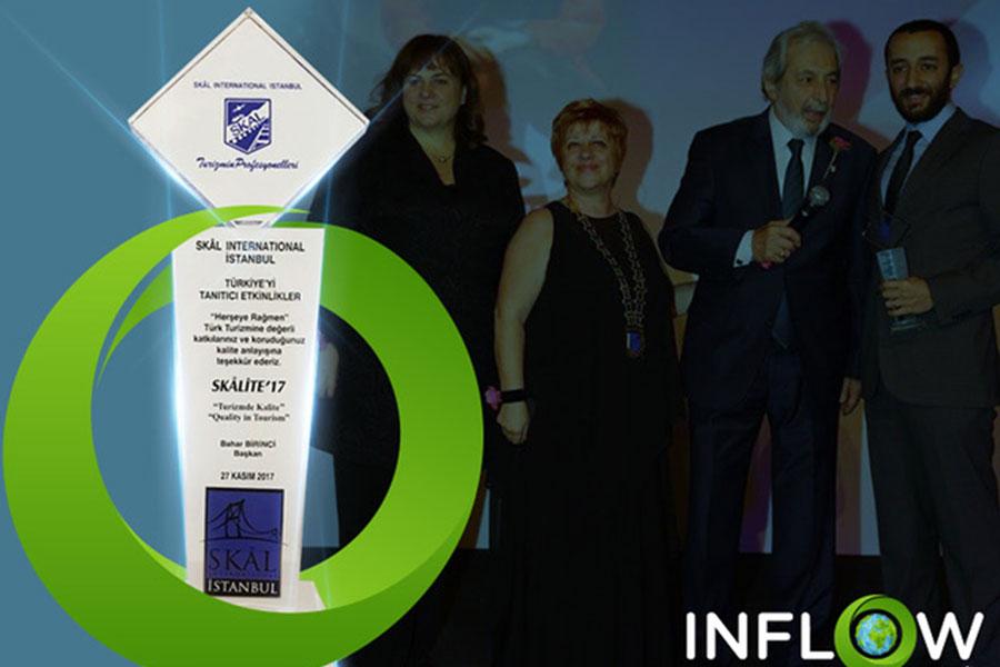 INFLOW Summits'e uluslararası ödül