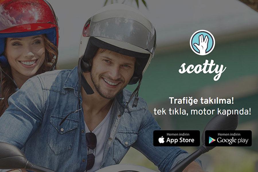 Şehrin trafik sorununa inovatif bir çözüm: Scotty