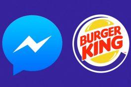 Burger King'de Facebook üzerinden sipariş dönemi