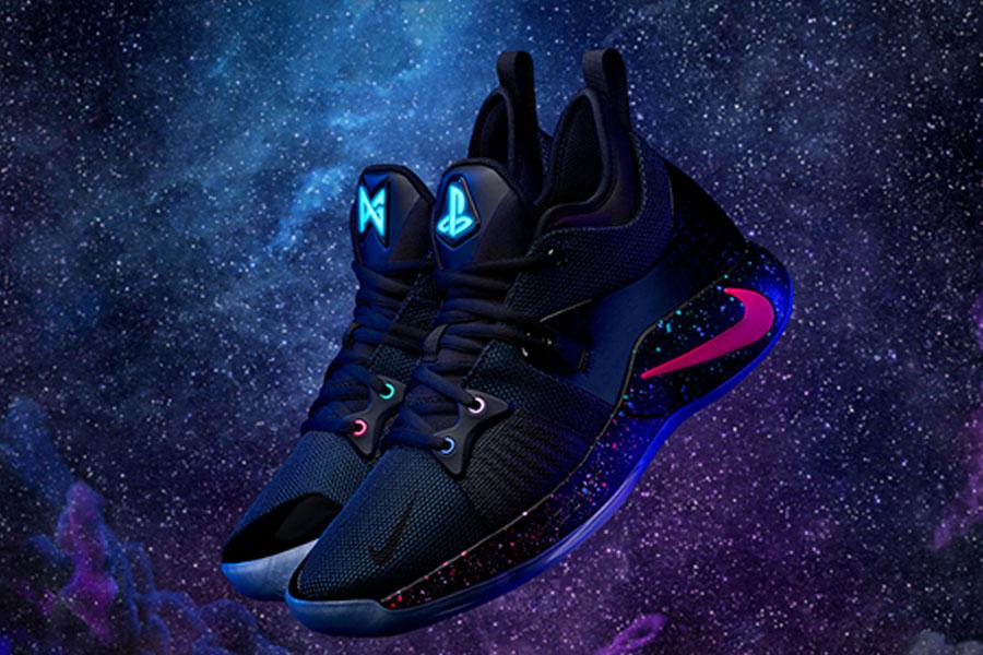 PlayStation tasarım ve renkleri ile Nike PG2 tanıtıldı