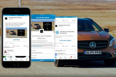 LinkedIn kampanyası ile Mercedes-Benz GLA satıldı