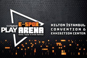 Yapı Kredi Play E-Spor Arena Oyun ve Dijital Yaşam Festivali başlıyor