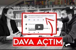 YouTuber Ekin Kollama, küfürlü yorum için dava açtı [Video]