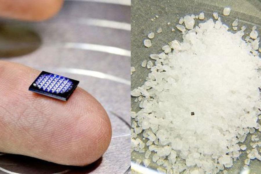 IBM'den tuz tanesi büyüklüğünde bilgisayar