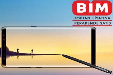 BİM'in bu haftaki kampanyası Samsung Galaxy Note 8
