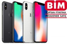 BİM'in yeni bombası: iPhone X