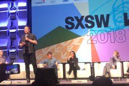 Elon Musk, Westworld panelinde sahneye çıktı