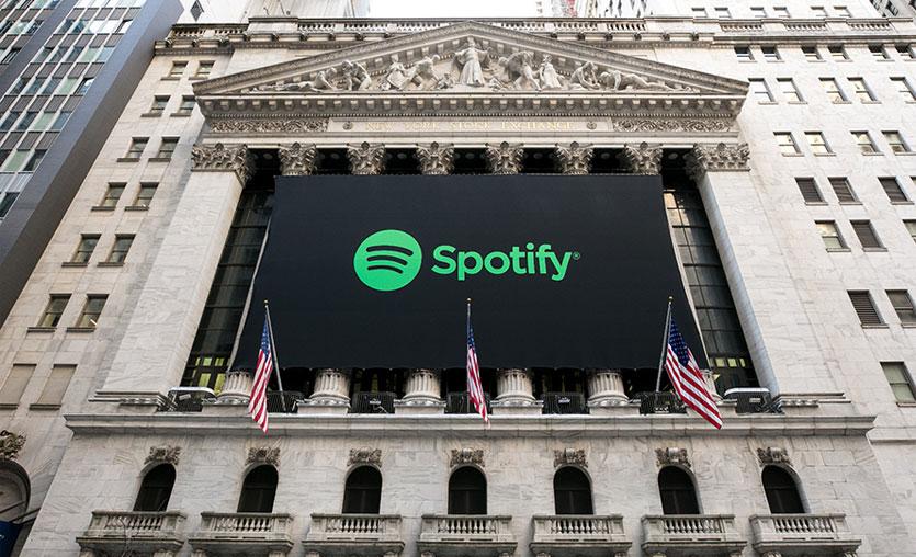 Spotify halka arz edildi