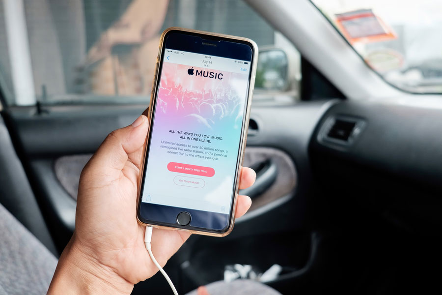 apple music 40 milyon barajini asti