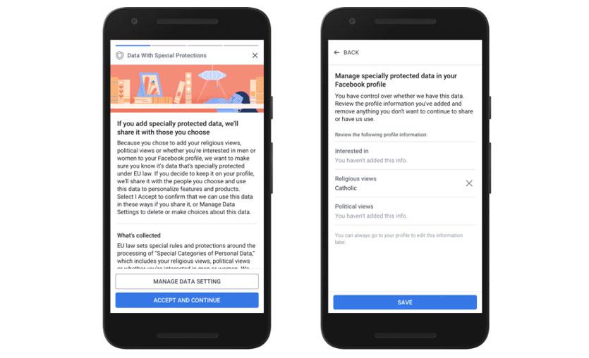 Facebook'tan yeni gizlilik önlemleri