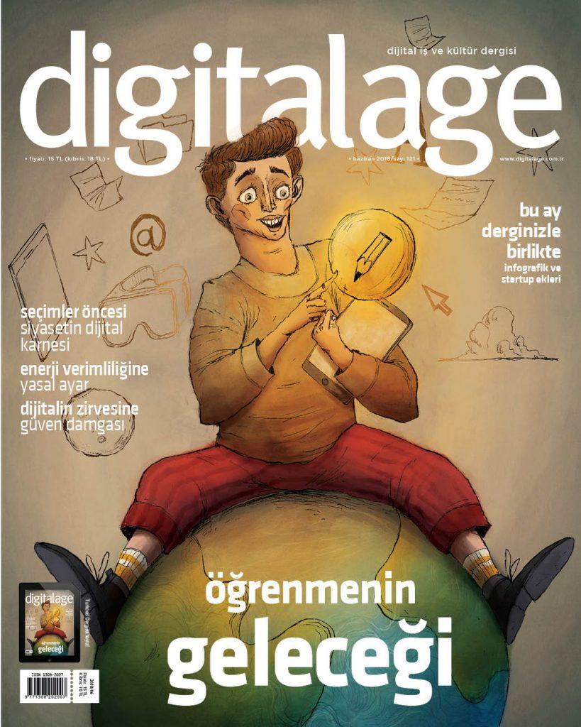 Digital Age Bu Ay Kapak Görseli