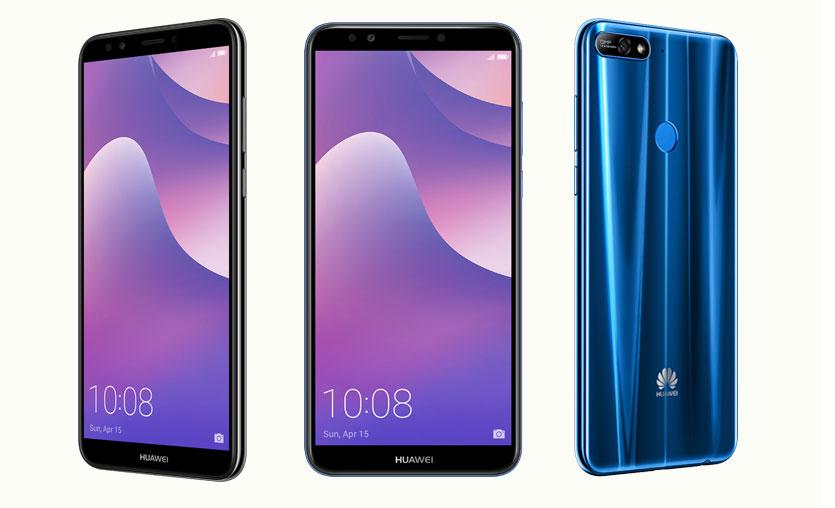 Huawei Y7 2018 şimdi Türkiye'de