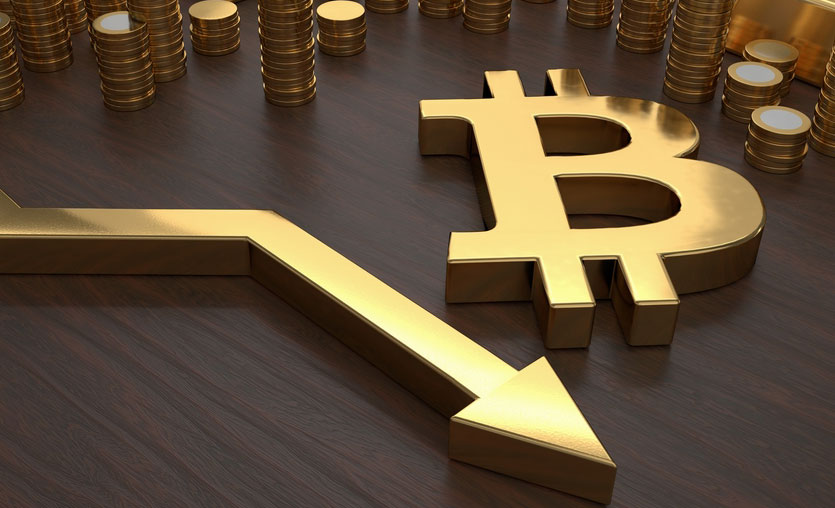Bitcoin dibi gördü