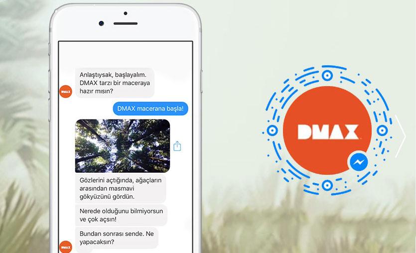 DMAX chatbot oyununu yayına alıyor
