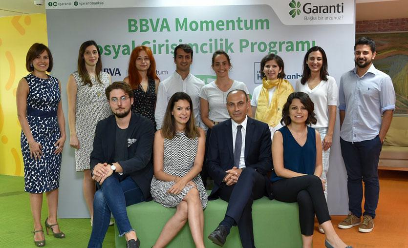 Garanti Bankası Sosyal Girişimcilik Programı'na katılacak girişimler belli oldu
